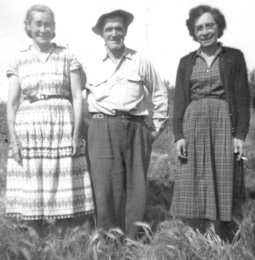 Sam and Flora Seright and Blanche Macdonald