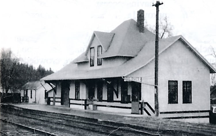 CN Train Station and Telegraph Office.