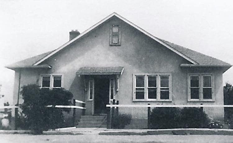 River Post Office, September, 1955 (Home of James S. Forbes).