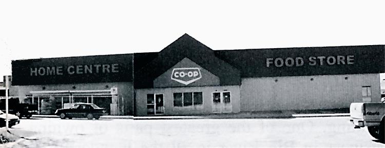 Big River COOP Home Centre and Food Store, 2004.