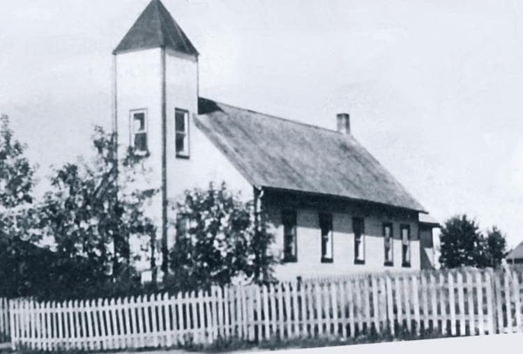 The Union Church built in 1910.