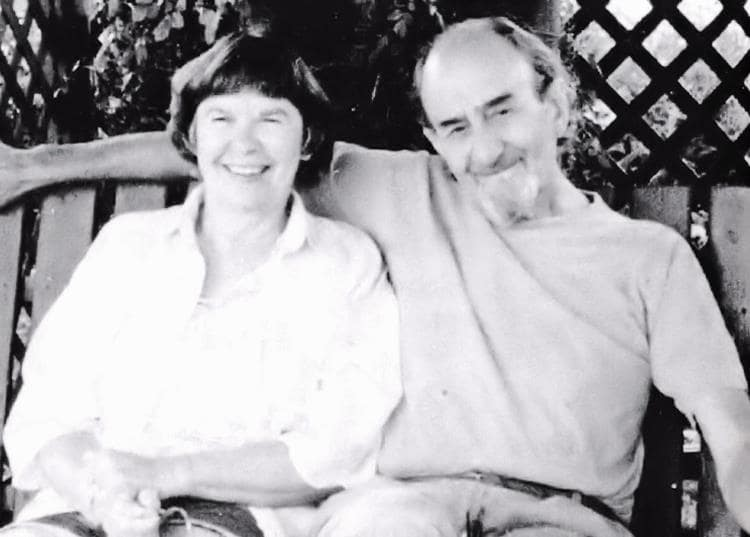 Joyce and Russel, 2000.