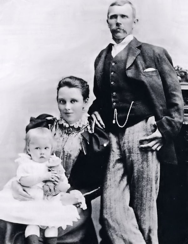 George Warriner and wife.