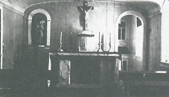 Chapel in Oblate Residence.