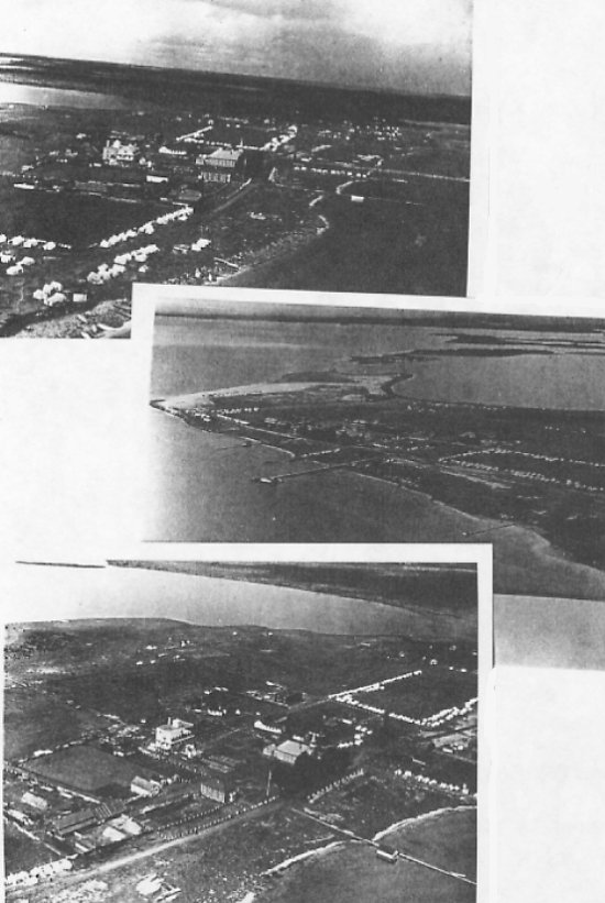 Aerial views of Ile-a-la-Crosse - 1946.