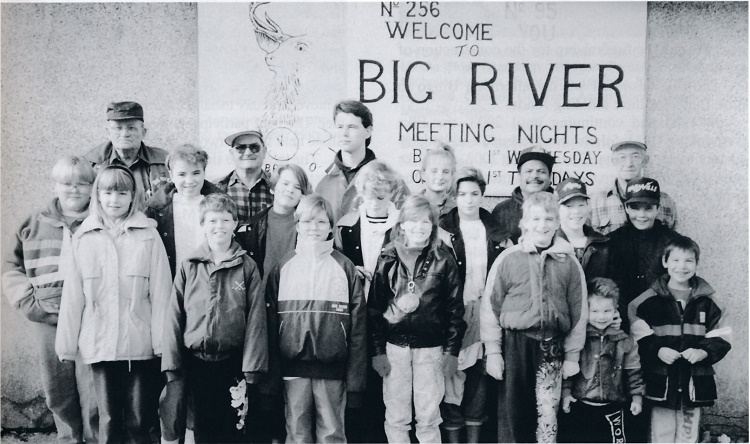 Big River Elk's Hall, 2004.