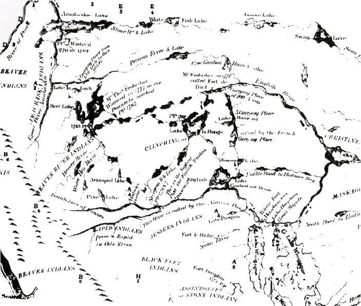 Peter Pond's Map.