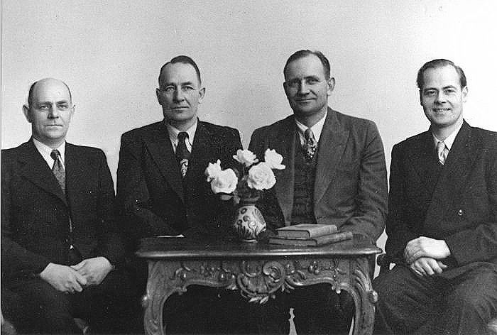 halvor ausland and his brothers.