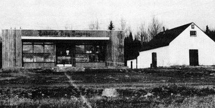 The Hudson's Bay Company store at La Ronge, 1954.