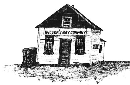 Old Hudson's Bay Company Trading Post