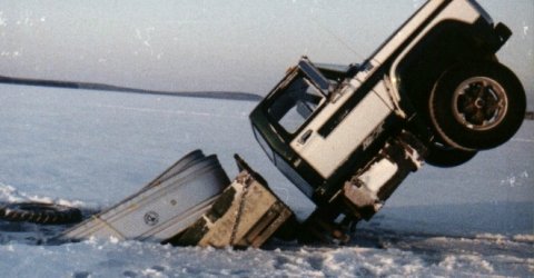 Truck in the Ice