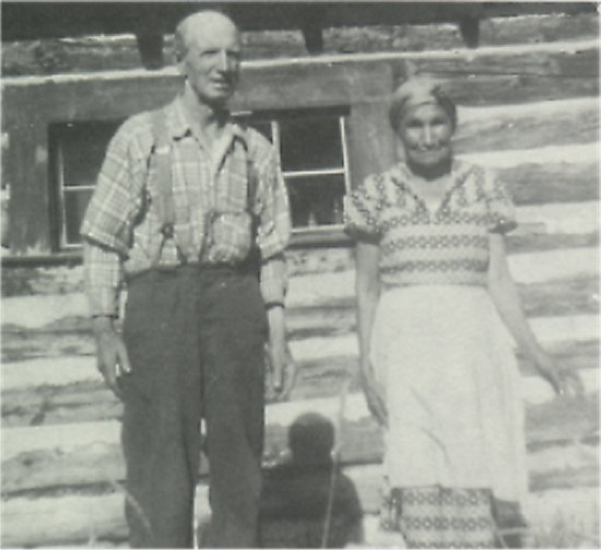 Tom and Mary McBride, August, 1955.