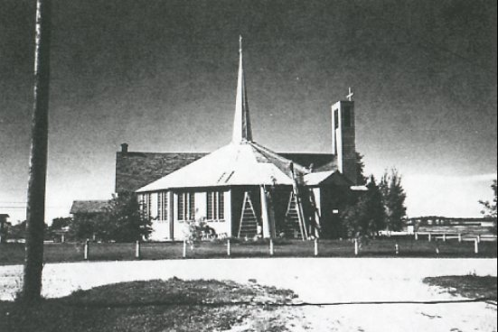 Church acquired a new roof in 1995.