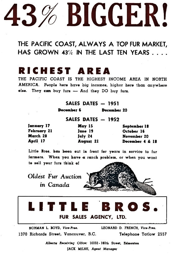 Little Bros. Advertisment.