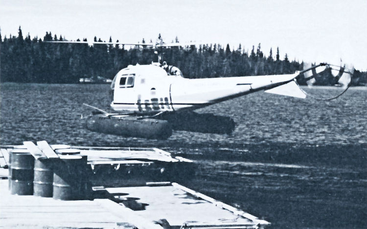 Athabaska Airways was the first company in Saskatchewan to operate helicopters.