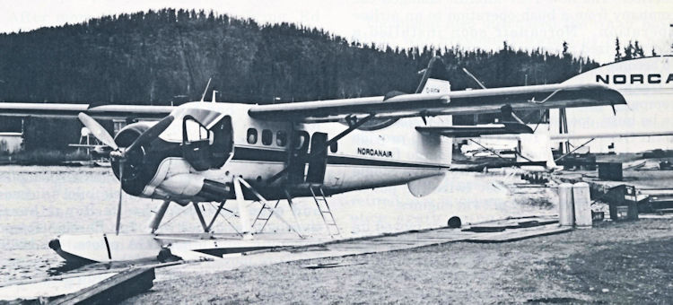 Norcanair's Single Otter CF-LGM.