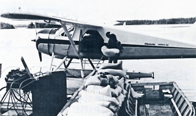 A De Havilland Beaver owned by Athabaska Airways.